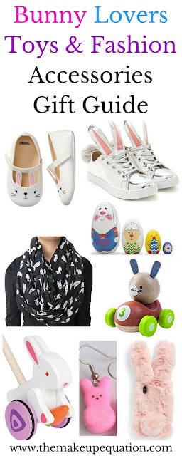 Bunny Toys and Fashion Accessories Easter Gift Guide