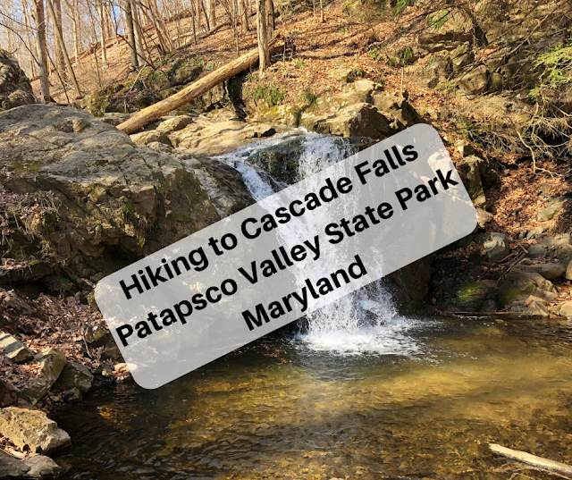 Hike to Cascade Falls at Patapsco Valley State Park in Maryland