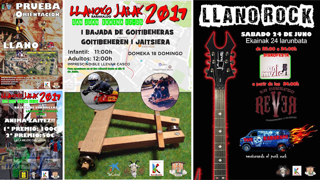 Actividades de fiestas de Llano