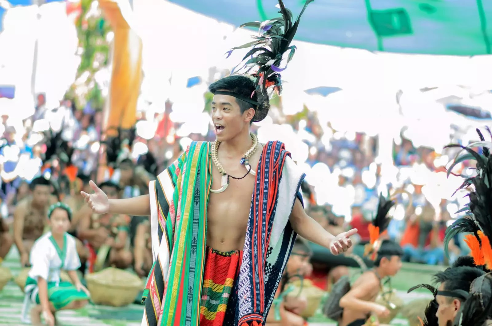 Ethno-Indigenous Song Oration 13th Lang-Ay Festival Bontoc Mountain Province Cordillera Administrative Region Philippines
