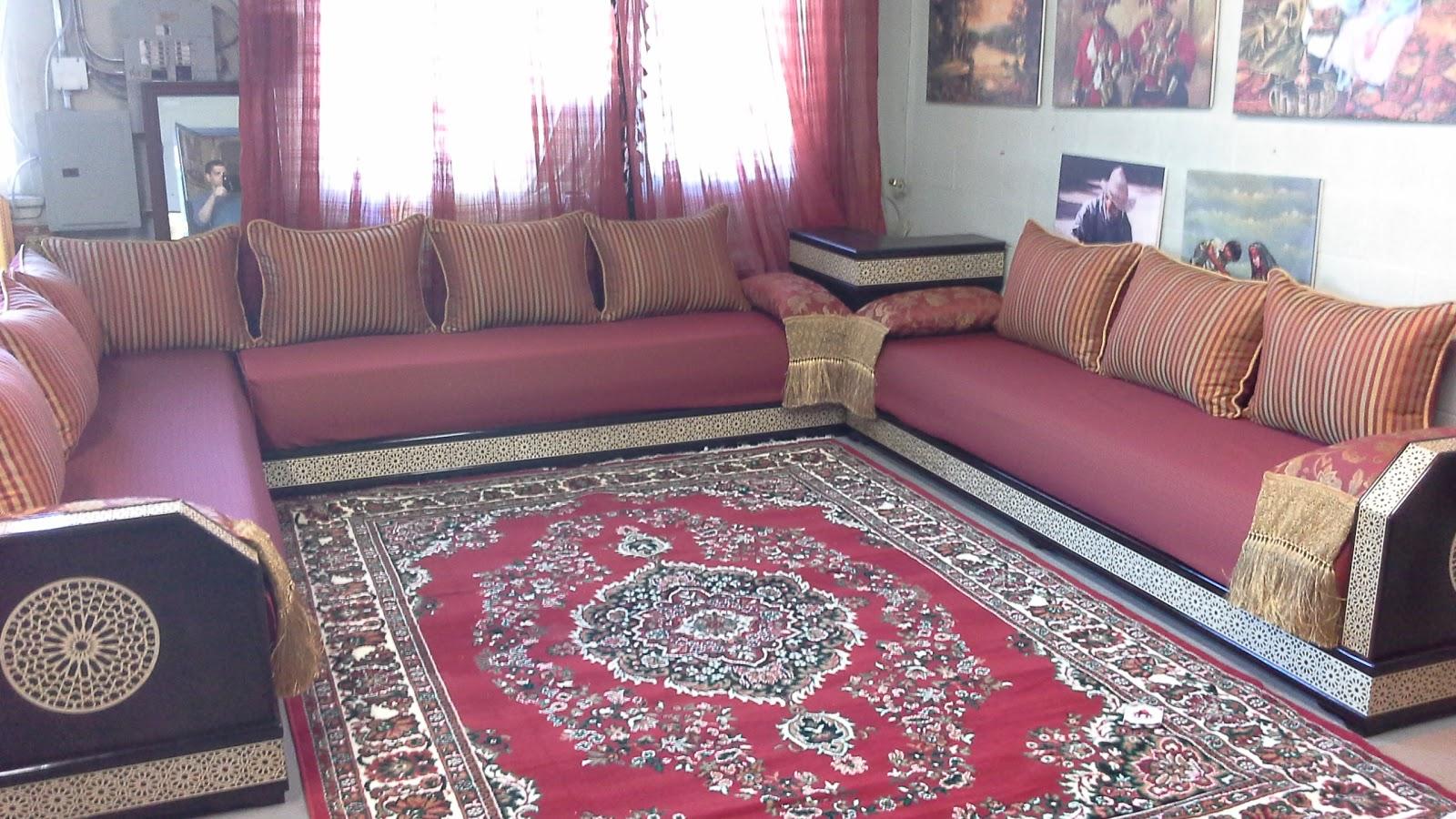 salon marocain f vrier 2015. Black Bedroom Furniture Sets. Home Design Ideas