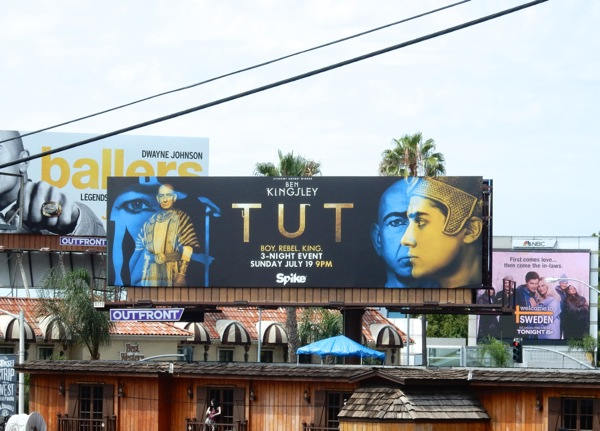 Tut TV series bilboard