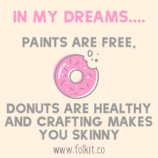 if only! #quote #crafting #painting