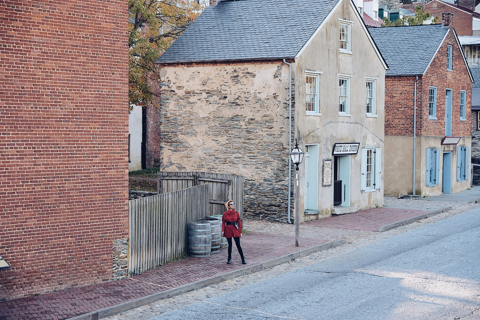 Los In Harpers Ferry by Mari Estilo. Wearing: Pants: SheIn Sweater: Choies Bag: Coach
