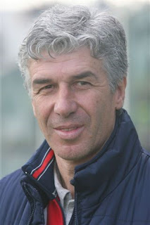 Gian Piero Gasperini, the head coach of Atalanta