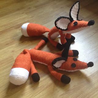 Little Prince Amigurumi Free Pattern : WoollyRhinoCrafts: FREE Crochet Pattern - The Fox Plush ...