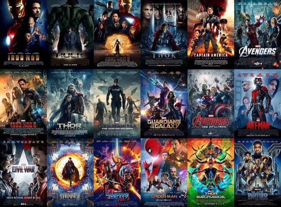 Marvel Studios Produzierte Filme