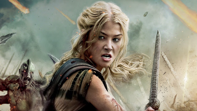 Celebrities, Movies and Games: Rosamund Pike as Andromeda ...