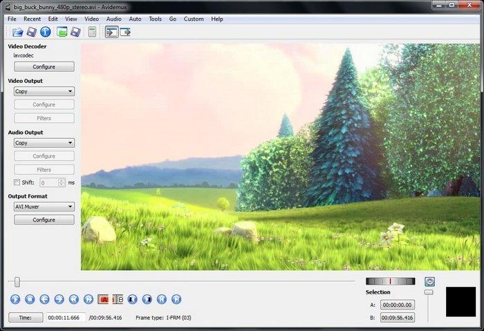 Software Avidemux