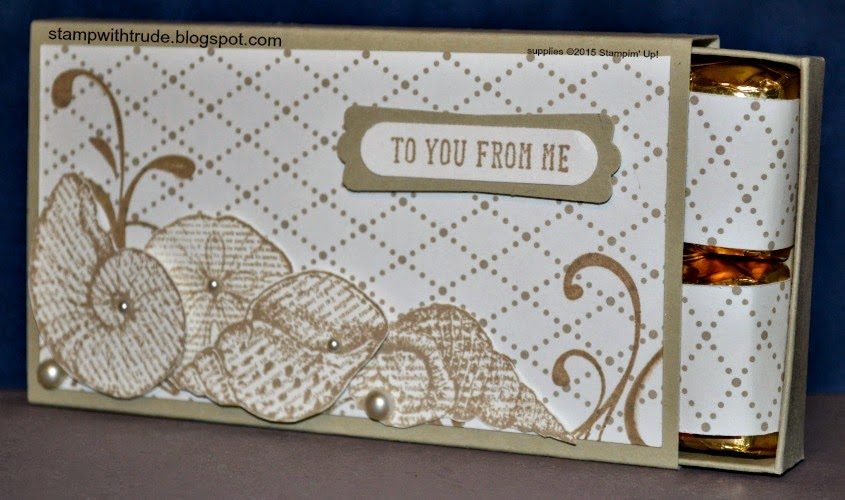 stampwithtrude.blogspot.com, Trude Thoman, Stampin' Up!, By the Seashore stamp set, gift card holder, hershey nugget holder, Everything Eleanor, And Many More