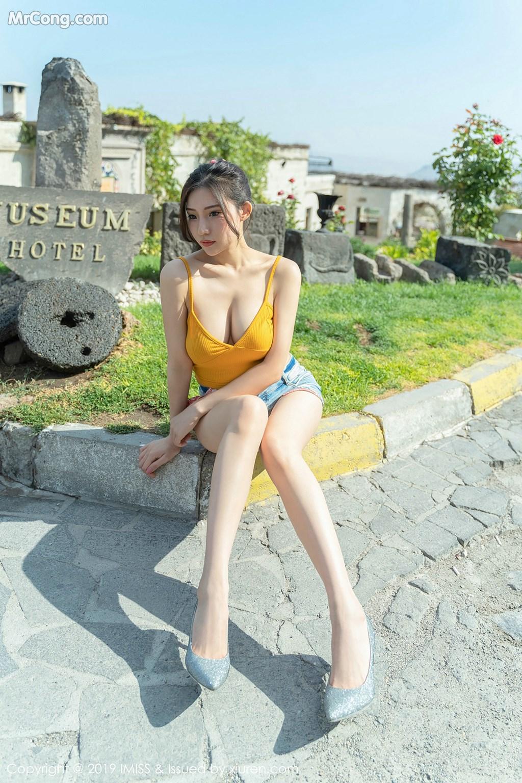 Image IMISS-Vol.319-Xiao-Hu-Li-Kathryn-MrCong.com-009 in post IMISS Vol.319: Người mẫu Xiao Hu Li (小狐狸Kathryn) (41 ảnh)