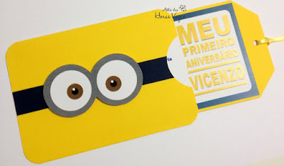 convite de aniversário infantil personalizado artesanal minions filme meu malvado favorito menino festa personalizada minion