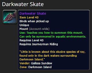 Darkwater Skate Mount