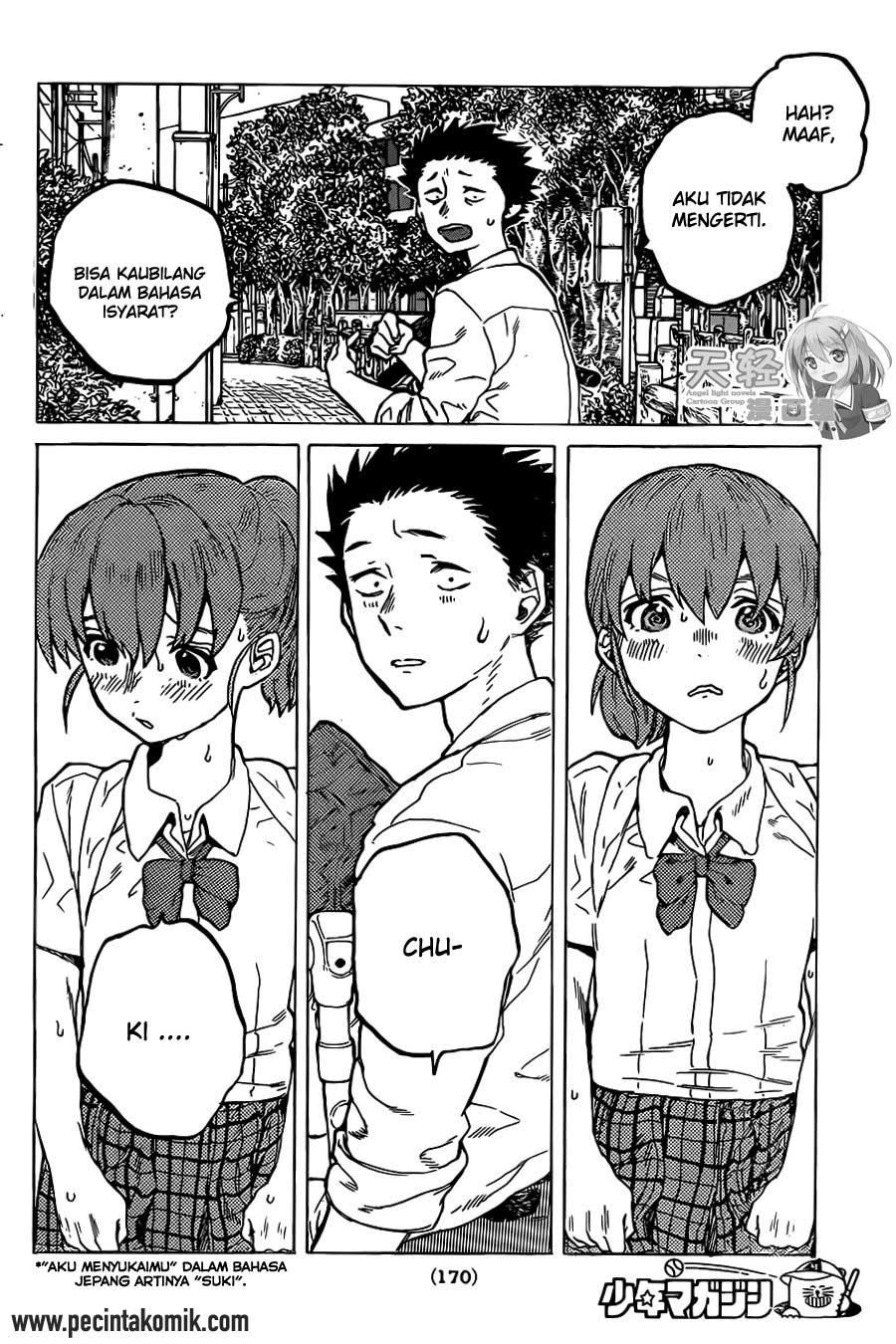 Koe no Katachi Chapter 23-18