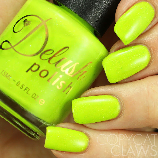 Delush Polish Don't Get It Citrus