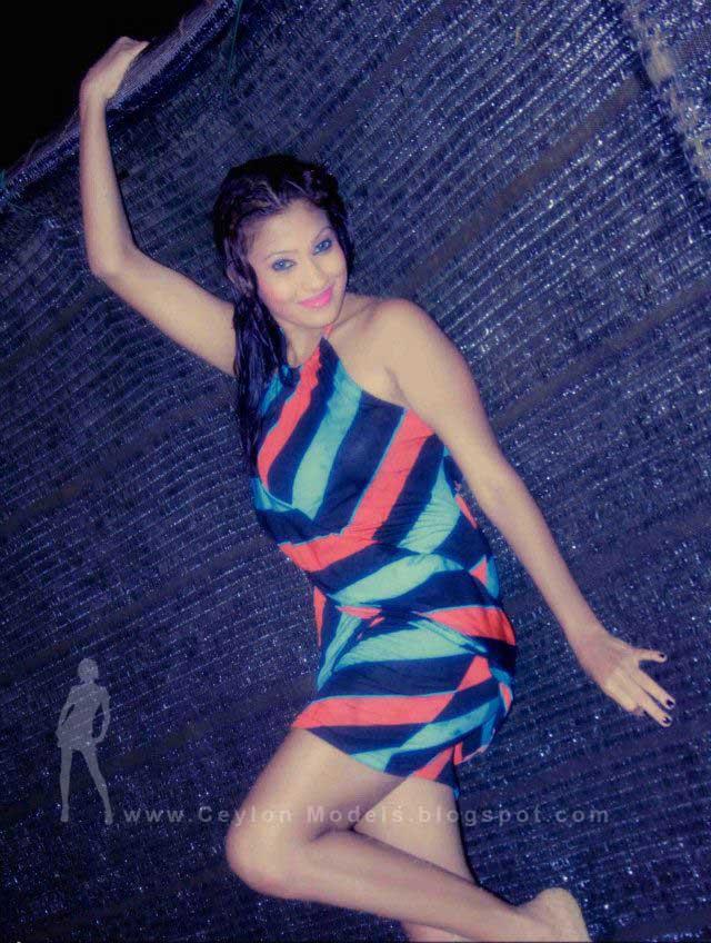 Fallon Michelle bikini model sri lanka