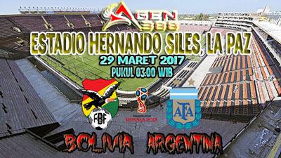 JUDI BOLA DAN CASINO ONLINE - PREDIKSI PERTANDINGAN KUALIFIKASI PIALA DUNIA 2018 BOLIVIA VS ARGENTINA 29 MARET 2017