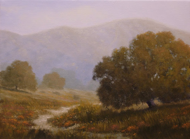 Ron Guthrie Art California Landscape Painting