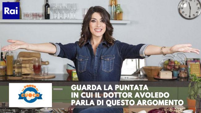 Il dottor Luca Avoledo parla dei benefici delle pere a La Prova del Cuoco su Rai1