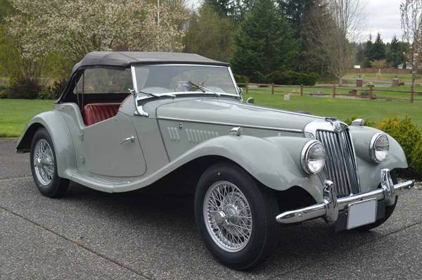 Daily Turismo 20k Trading Pabst For Port 1954 Mg Tf