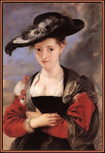 El sombrero de paja. Rubens.