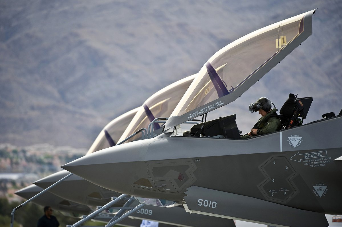 Weight Restrictions On F-35A Pilots Removed