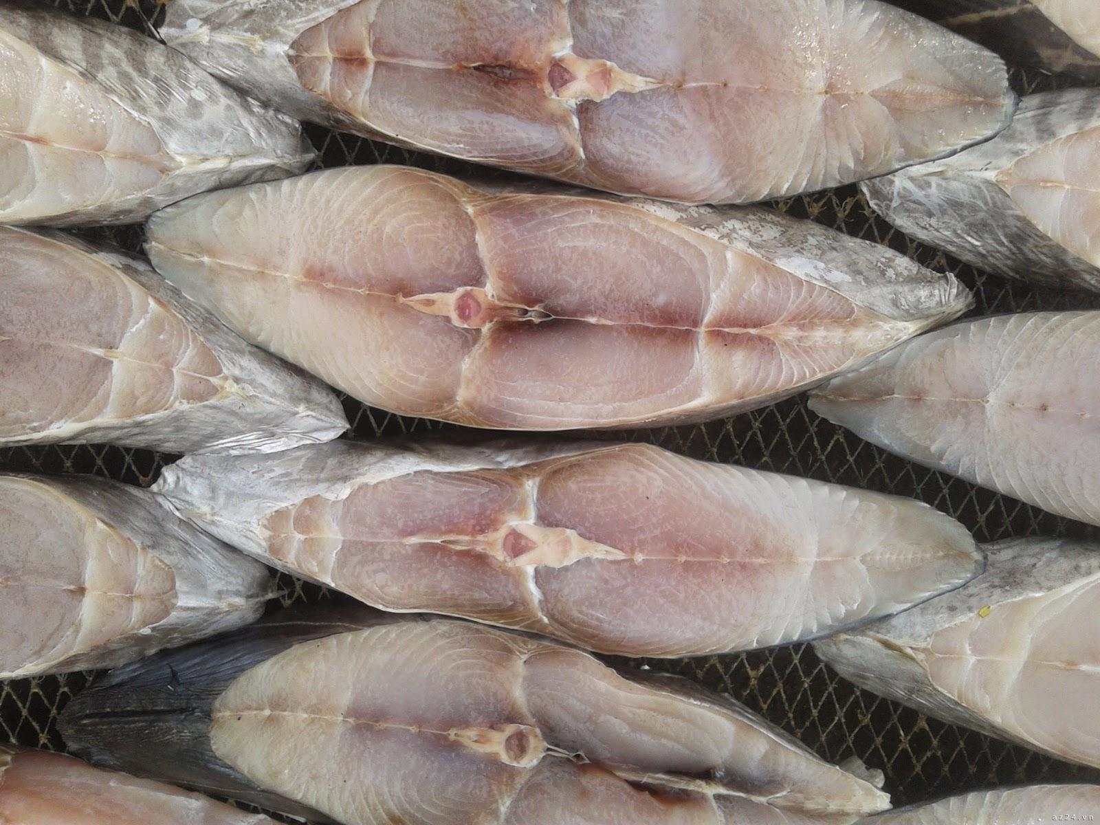 Ngọc Anh Food clean: Cách làm cá thu phấn một nắng