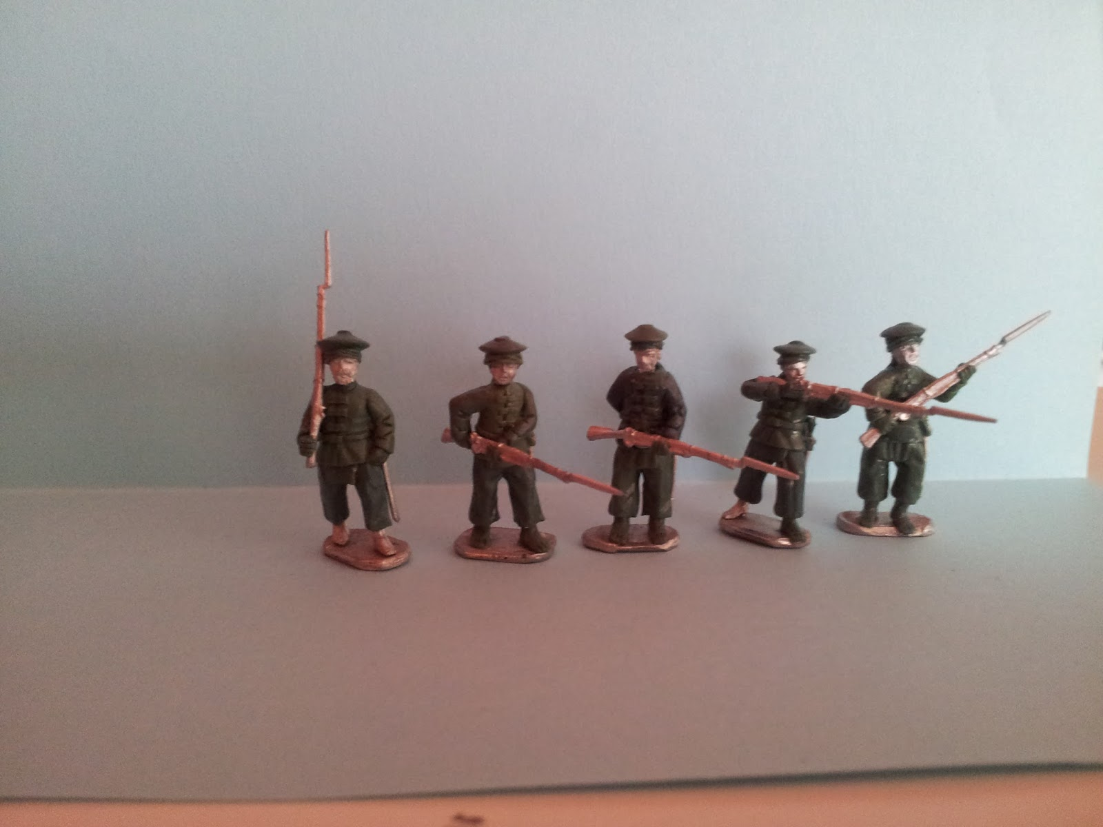 History in 1/72: Tirallieurs Anamite for Indochina 1880ies