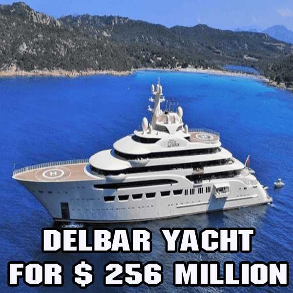 Yacht of the Week: Delbar Yacht for $ 256 Million, Another Yacht Can Capture!