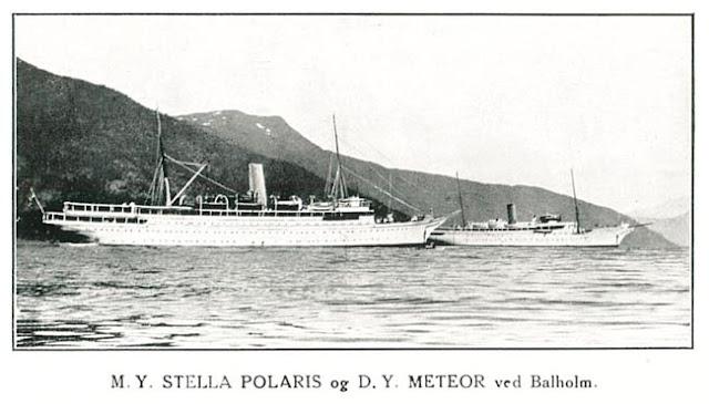 Stella Polaris and prdessesor Meteor