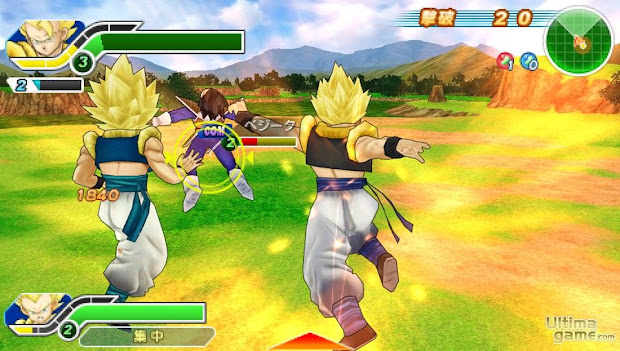 Dragon Ball Z - Tenkaichi Tag Team PSP ISO