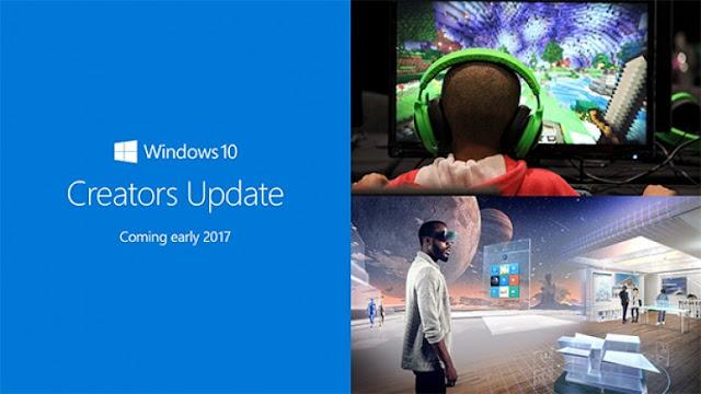 Inilah Fitur baru di Windows 10 Creators Update | VIDEO Hands On