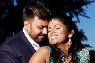 KUSH & CHRISTINE | HINDU WEDDING & CHURCH WEDDING