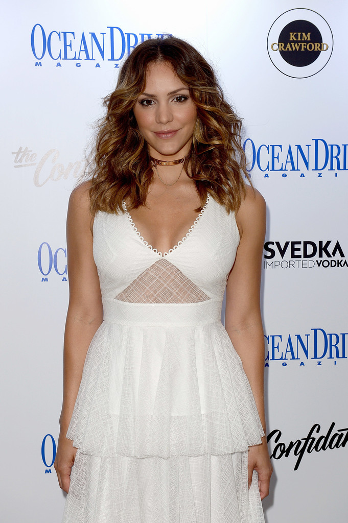 Katharine McPhee  at the September Cover of Ocean Drive Magazine