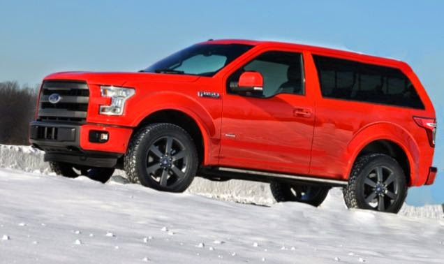 Seaspook: 2015 Ford Bronco Release Date, Specs & Price