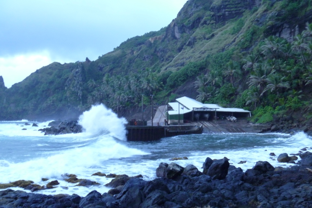 Rock Solid Concrete >> On The Rock. Teaching and Living on Pitcairn Island: Bounty Bay Pitcairn Island