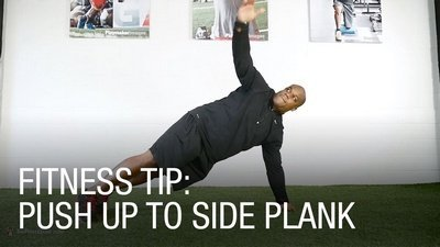 Push-Up Side Plank