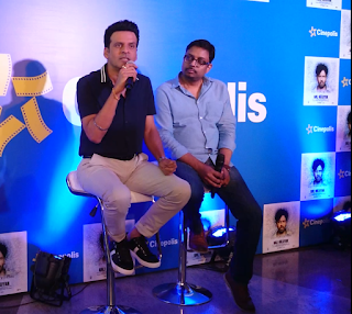 Media Interaction with Manoj Bajpayee (Stir Your Souls)