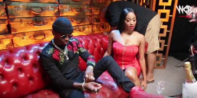 Image result for Diamond Platnumz  with Rose