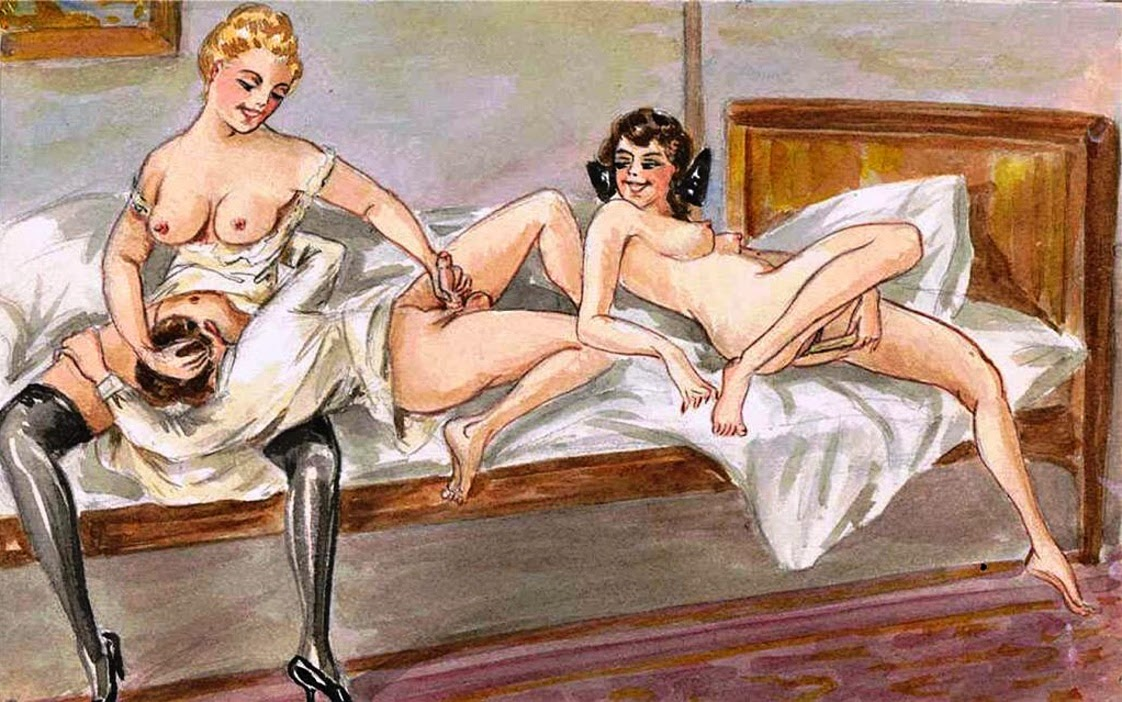 Antique mature erotica porn from 100 years ago - 76 part 2
