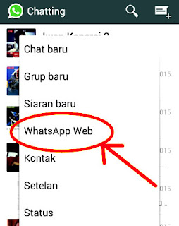 WhatsApp pan melalui komputer
