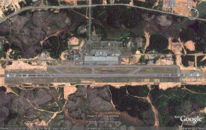 Bandara Hang Nadim Dengan Runway Terpanjang Se Indonesia