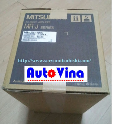 Đại lý bán Drive Amplifier MelServo Mitsubishi 7kW MR-J2S-700A