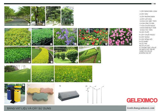 BẢNG GIÁ 499 LÔ - Liền kề Biệt thự The Green Daisy Geleximco