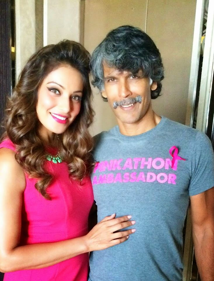 Bipasha Basu at Pinkathon‬ event gallery