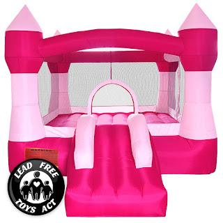 toddler princess girl bounce house rental AZ