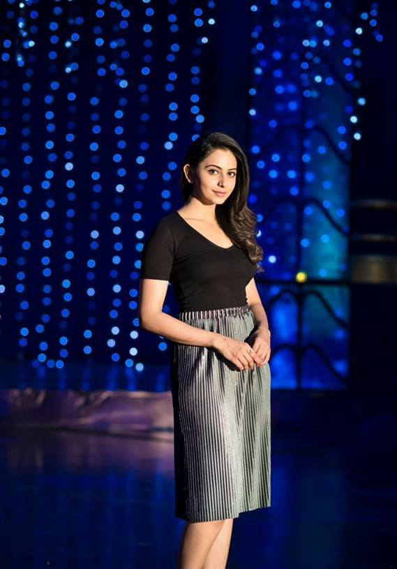 Rakul Preet Singh Latest Photoshoot In Black Dress