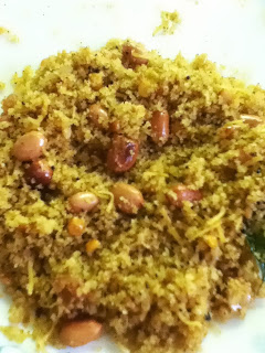 Gojju Avalakki / Tamarind Poha , Huli Avalakki, seasoned rice flakes