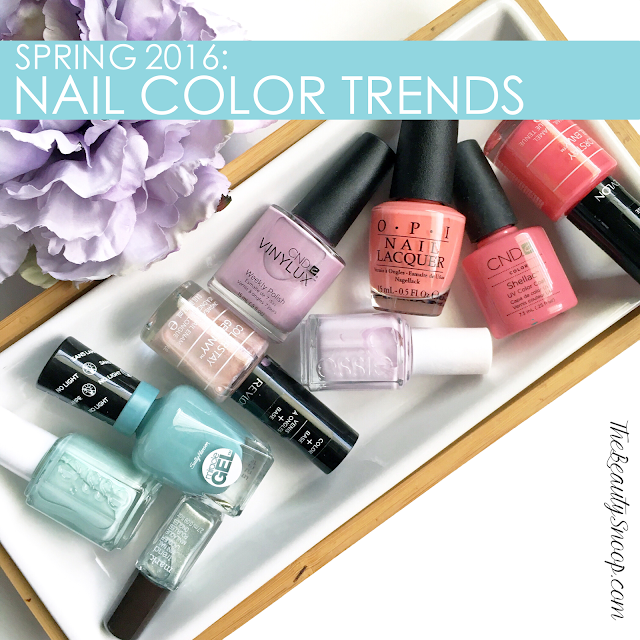SPRING 2016 HOTTEST NAIL COLORS