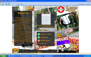 layout brosur belakang,pembuatan brosur,laporan pembuatan brosur,membuat brosur,desain brosur